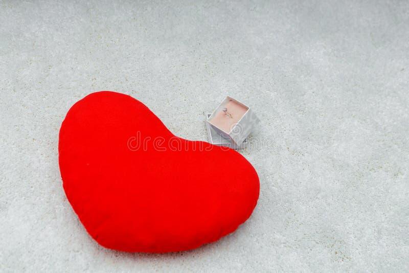 Liefdesan valentijnskaart day14 februari stock fotografie