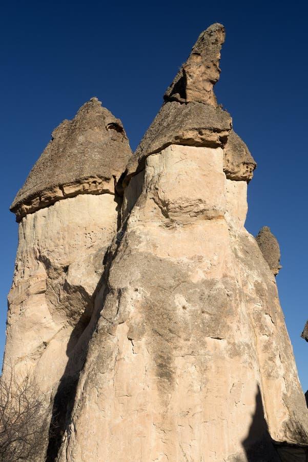 Liefdevallei, Goreme-gebied, Turkije stock afbeelding