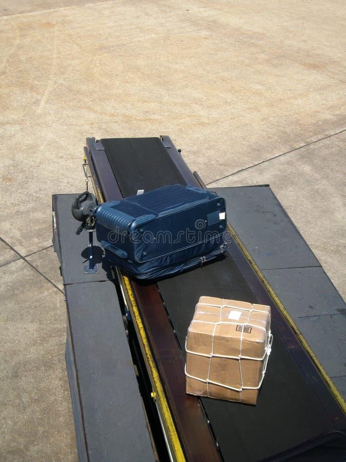 Lieferung Des Flugzeug-gepäcks Stockbild