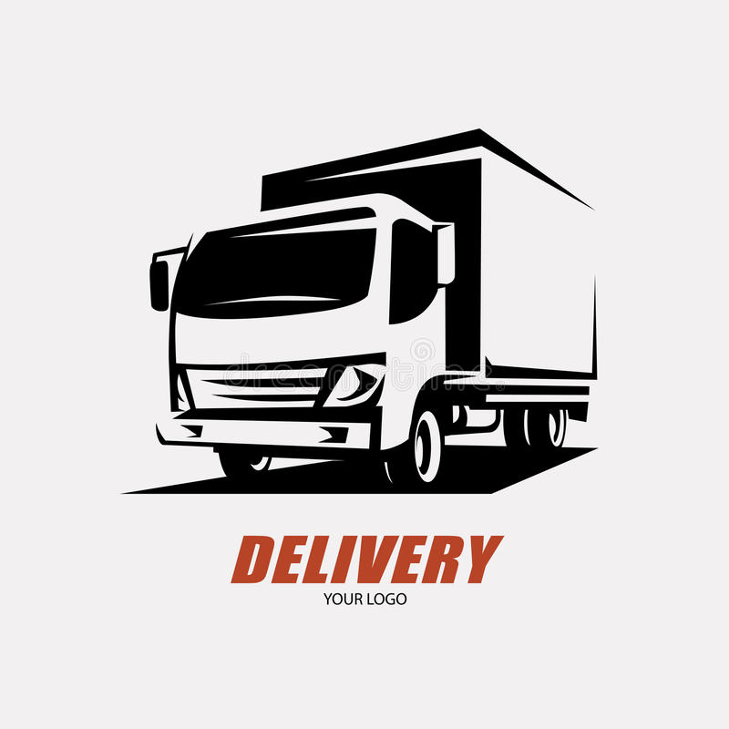 Lieferung und Versandservice stock abbildung