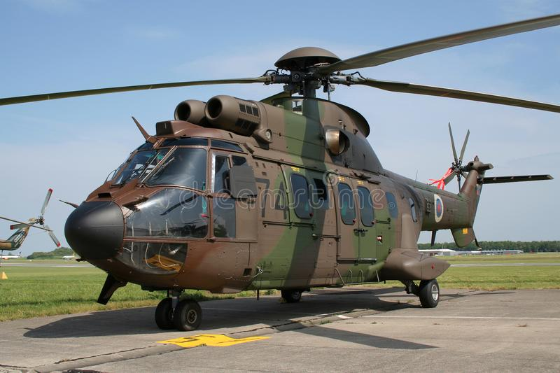 Slovenia military helicopter royalty free stock image