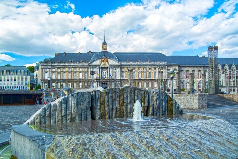 Liege, Vallonia, Belgio immagini stock