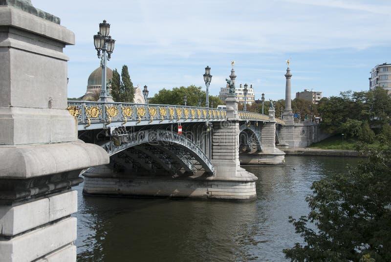 Liegi, Le Pont de Fragnée fotografia stock libera da diritti