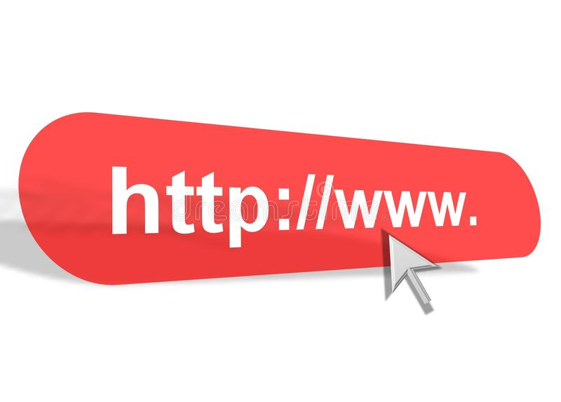 Lien D'accès De Site Internet Illustration Stock - Illustration du website,  tige: 54860626