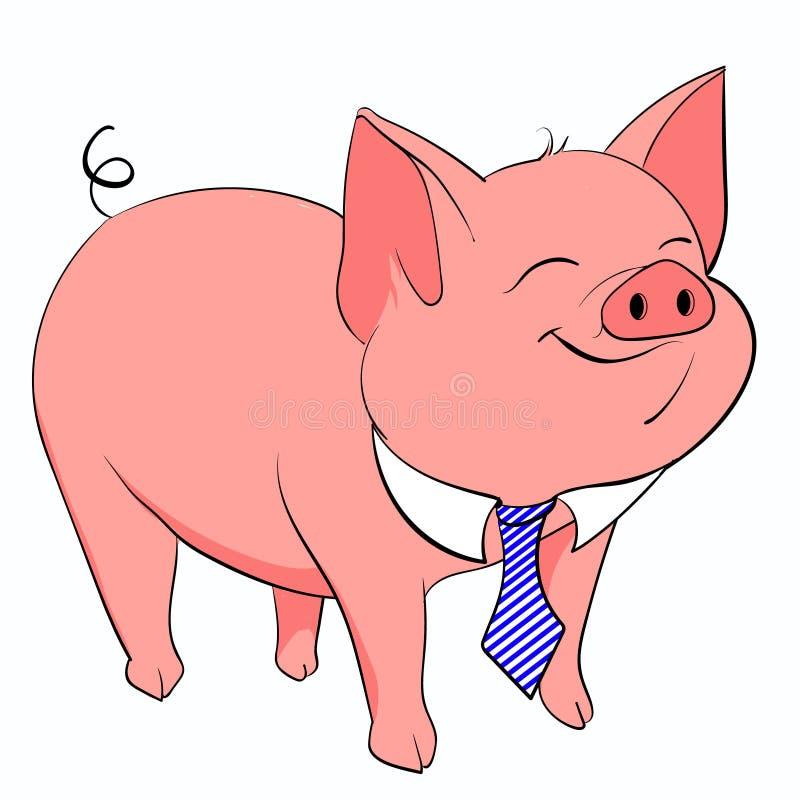 Lien de porc illustration de vecteur