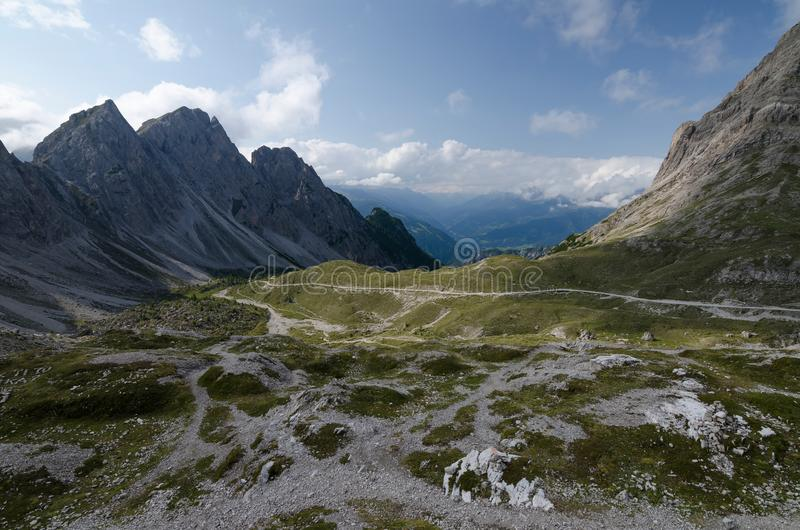 The Lienz Dolomites, Austria royalty free stock photo