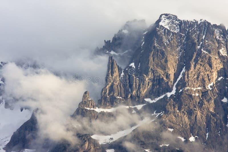 Lienzer dolomity w Wschodnim Tyrol, Austria obraz royalty free