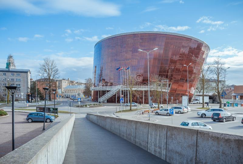 View of new concert hall Great Amber. royalty free stock images