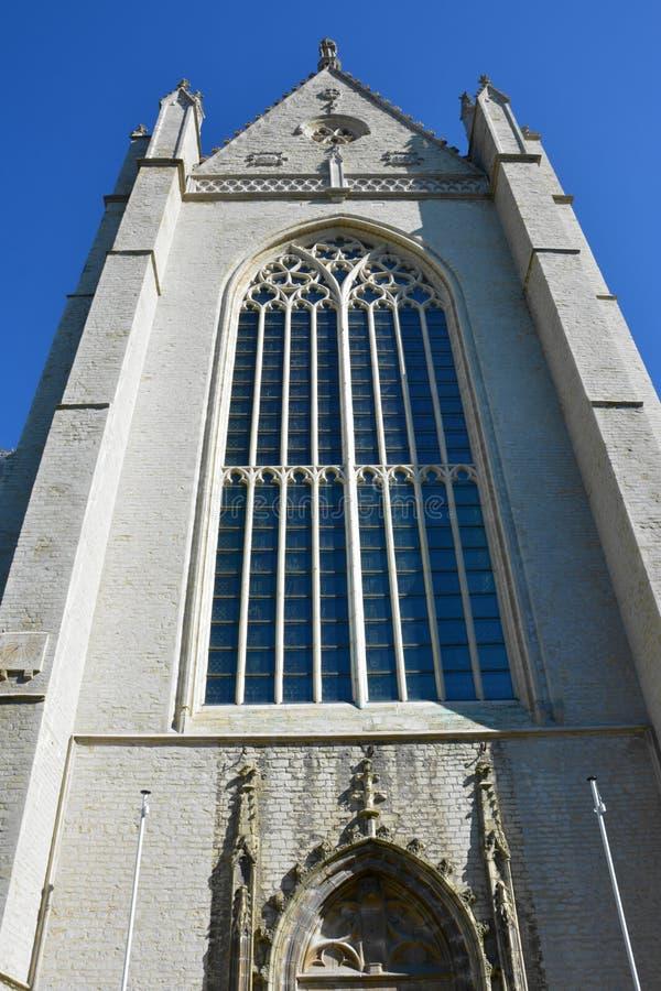 Lier, Bélgica Iglesia de Gummarus del santo imágenes de archivo libres de regalías