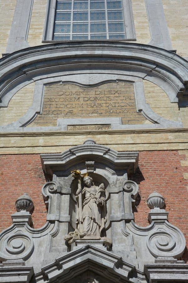 Lier, Bélgica Iglesia del santo-Margaretha en el Beguinage fotografía de archivo libre de regalías