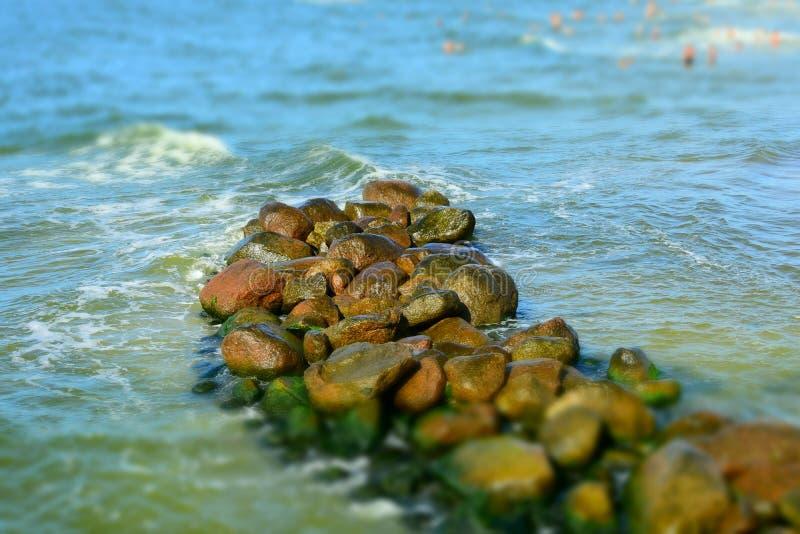 Lietuva Palanga Mar Baltico immagine stock libera da diritti