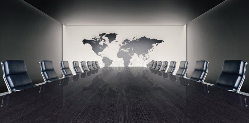 Lieu de conférence et de réunion illustration libre de droits