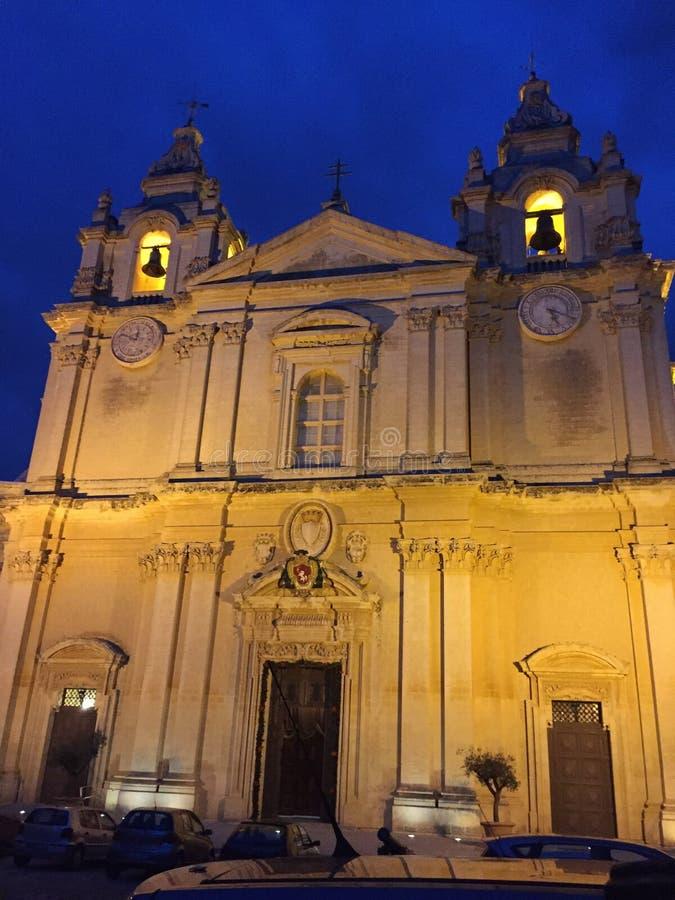 Lieu de culte, La Valette, Malte photographie stock libre de droits