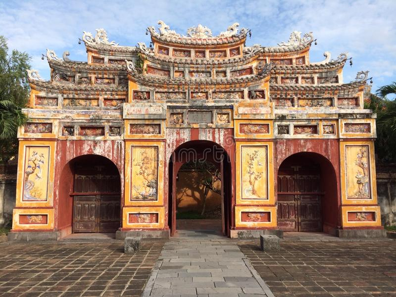 Lieu de culte vietnamien photo stock