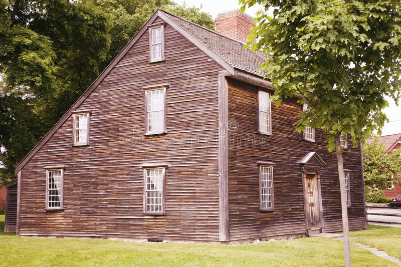Lieu de naissance de John Adams images stock