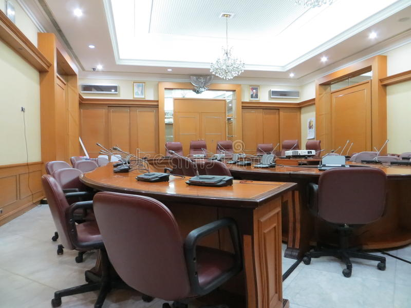 Lieu de réunion à la ville hôtel de Jakarta image libre de droits