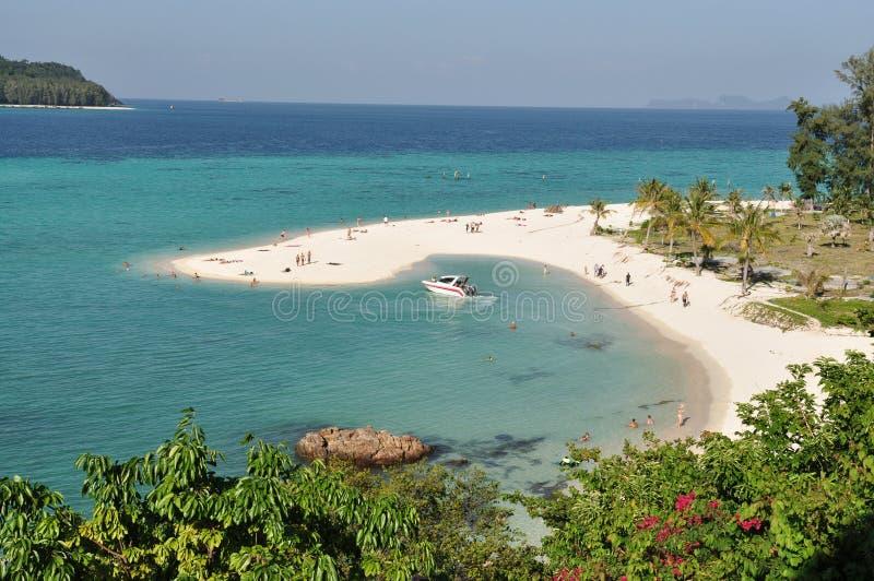 lieu de villégiature luxueux bleu d'océan images libres de droits