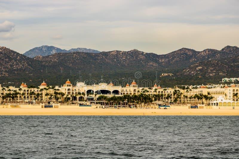 Lieu de villégiature luxueux dans Cabo San Lucas, Mexique, Baja California images libres de droits