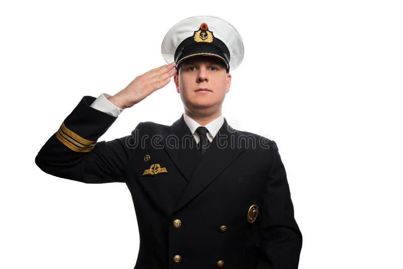 Lieutenant commander royalty free stock photo
