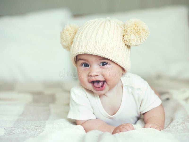 Lieve baby stock afbeeldingen