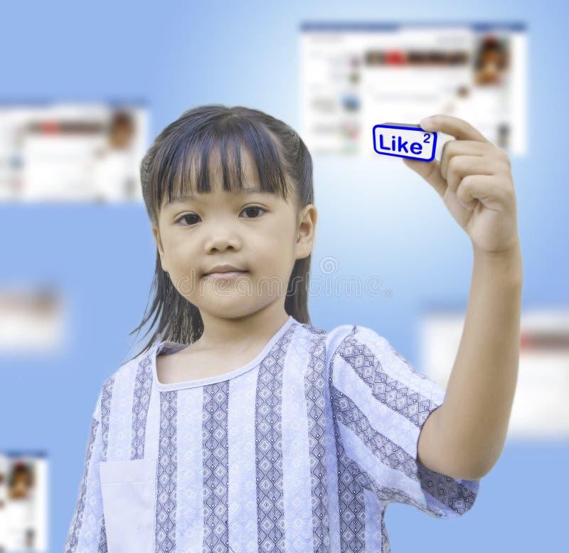 lif采取年轻人 库存图片