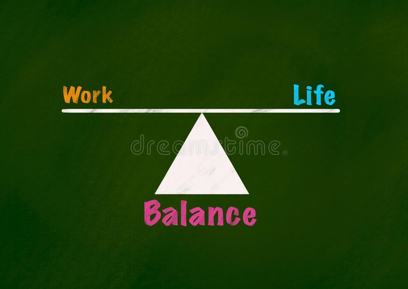 Life and Balance Concept Background royalty free stock image