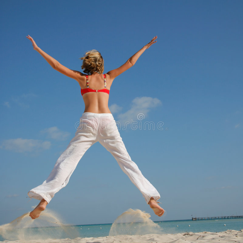 Life is a Beach royalty free stock photo