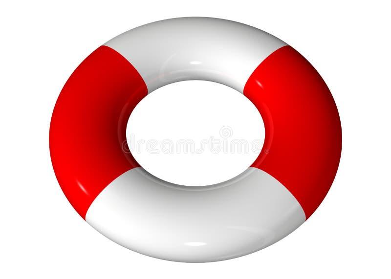 Download Life belt stock illustration. Image of safety, rendering - 1642920