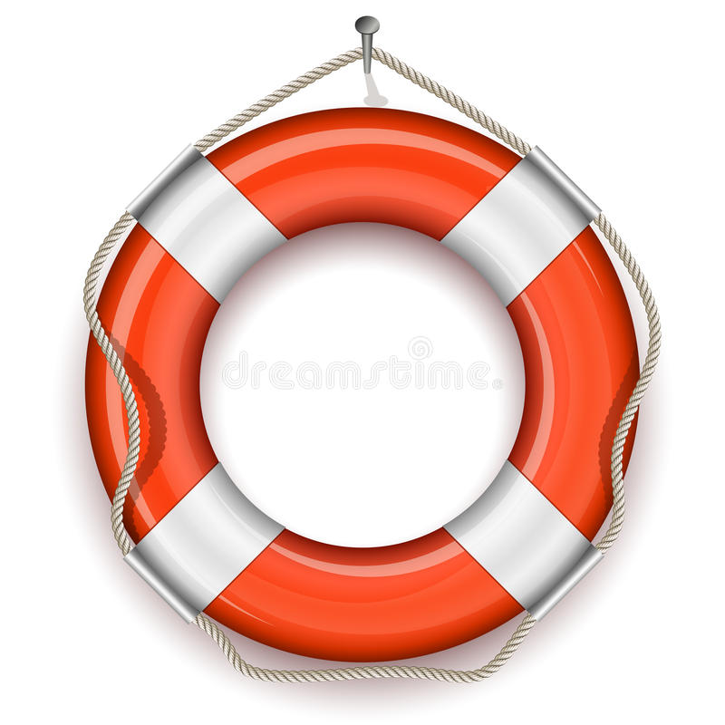 Download Life Belt stock vector. Image of life, marine, ring, assistance - 17496443