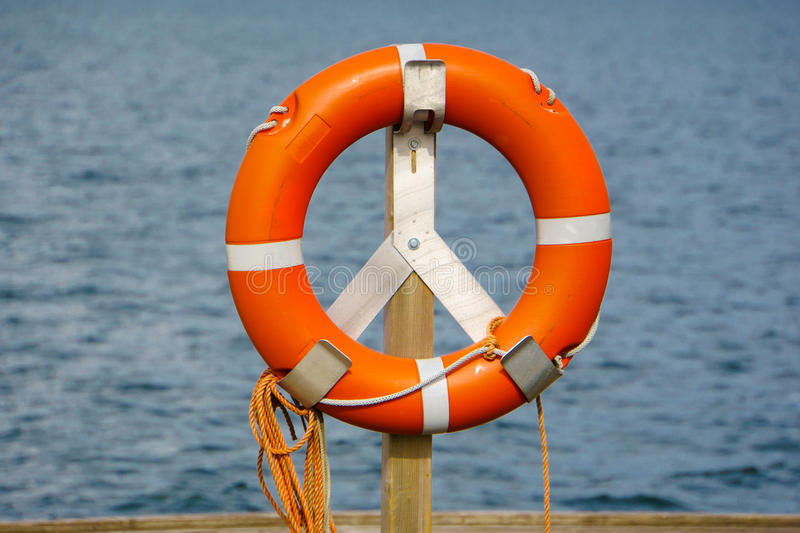Life belt, rescue ring 63 stock images