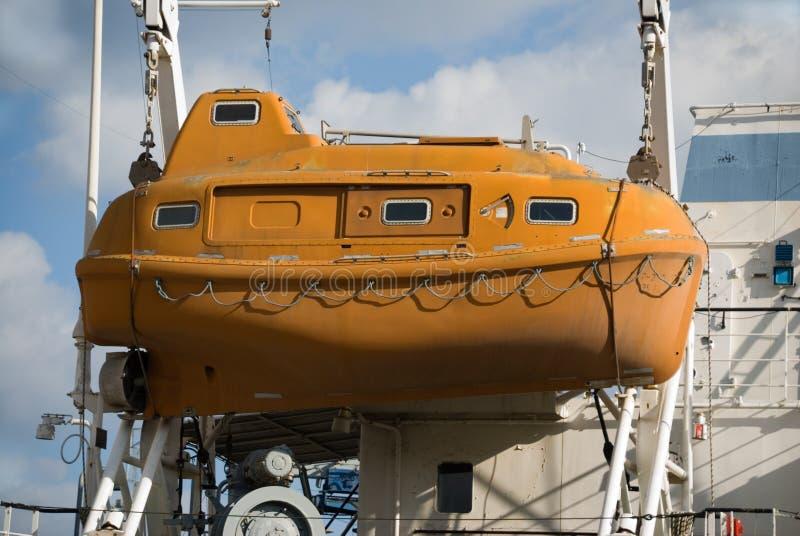 Life boat stock photo