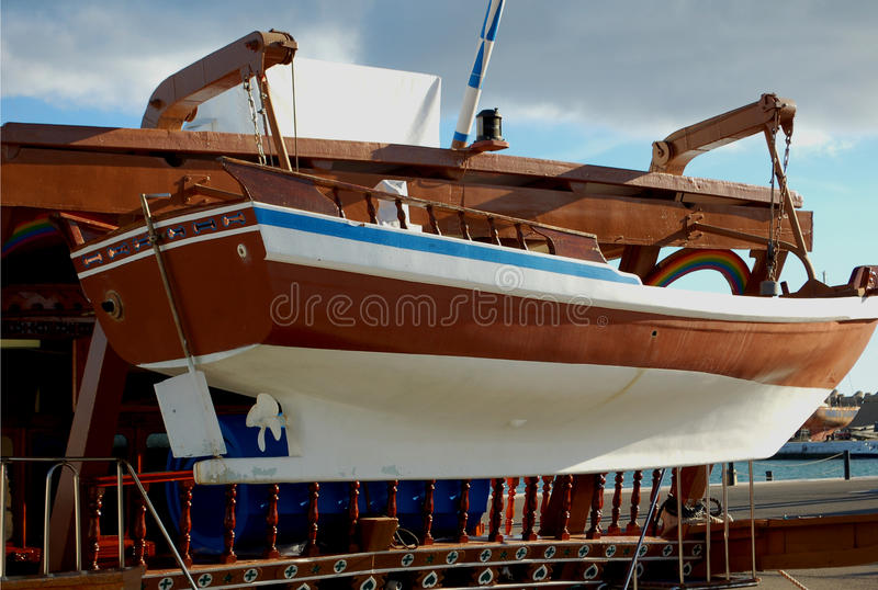 life boat royalty free stock images