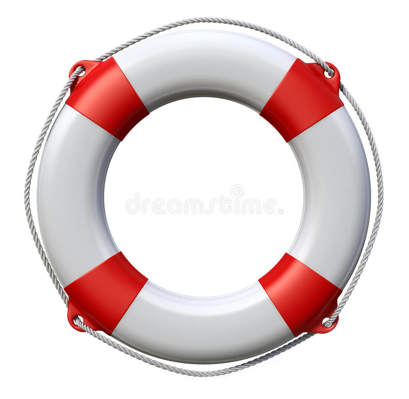 Life buoy royalty free illustration