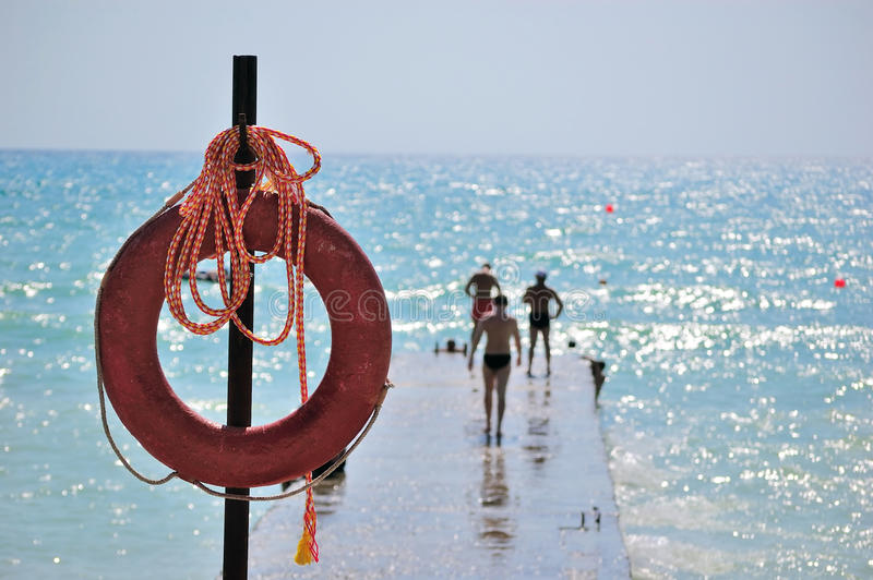 Download Life buoy stock image. Image of life, vacation, insurance - 15681973