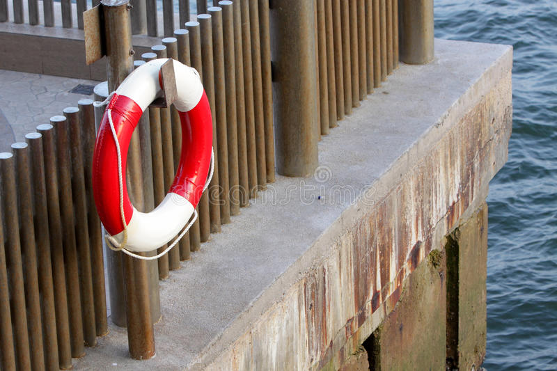 Download Life Buoy stock photo. Image of white, hook, hanging - 24762962