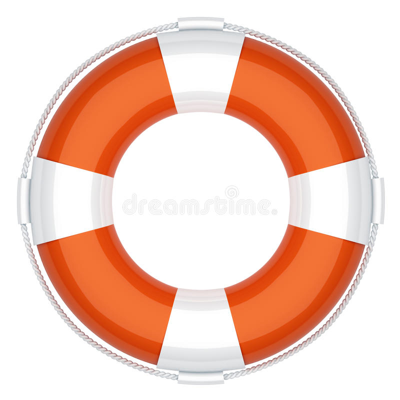 Life buoy stock illustration
