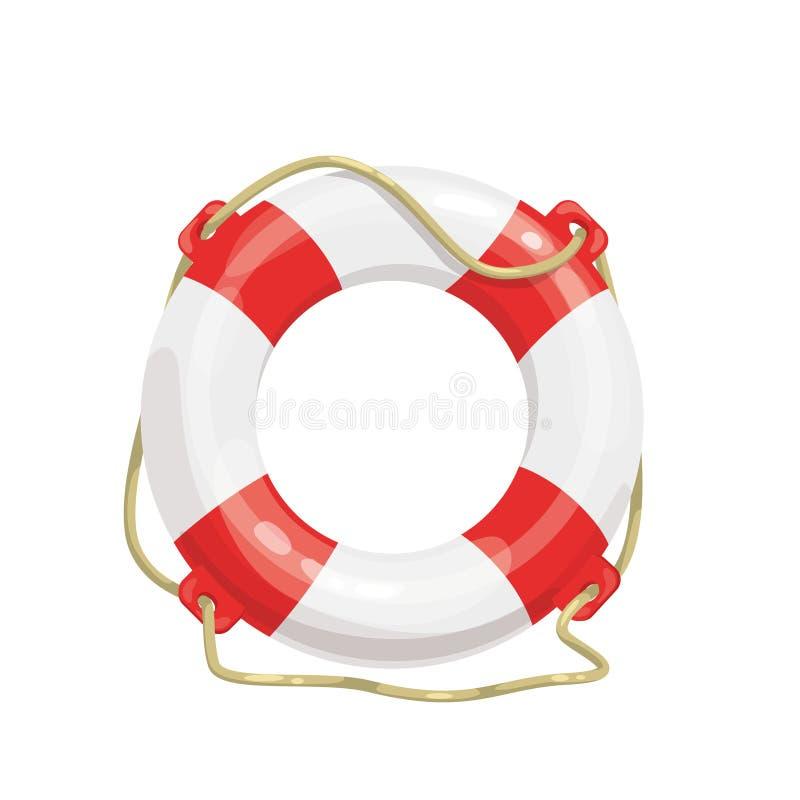 Life buoy icon i stock illustration