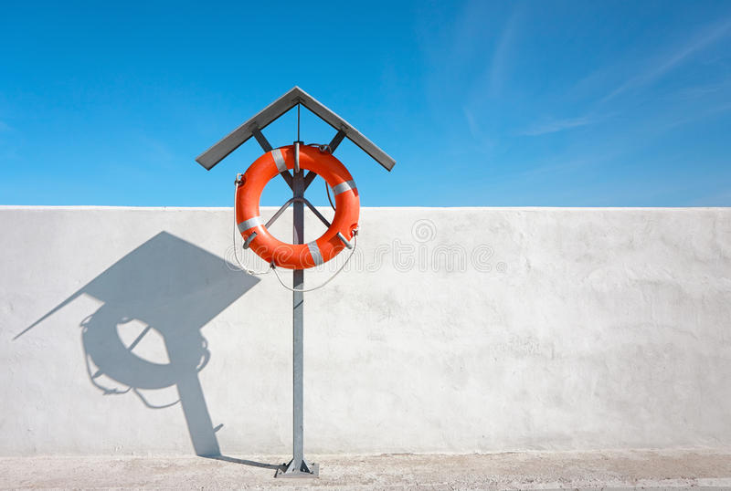 Download Life buoy for safety stock image. Image of swimming, saver - 14070649