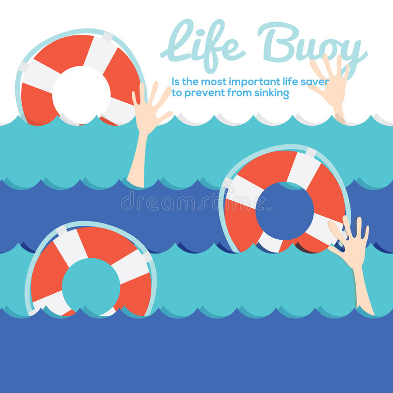 Download Life Buoy stock vector. Illustration of safety, risk - 39507816