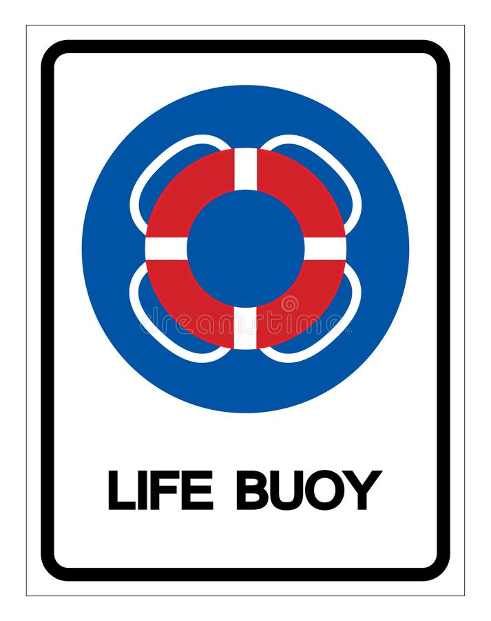Life Buoy Symbol Sign, Vector Illustration, Isolate On White Background Label .EPS10 vector illustration