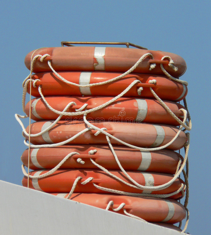 Download Life buoys stock image. Image of beach, buoys, grab, catch - 1061499