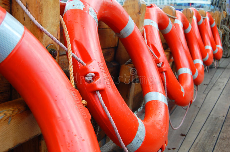 Download Life buoys stock photo. Image of assistance, ring, rubber - 18316206
