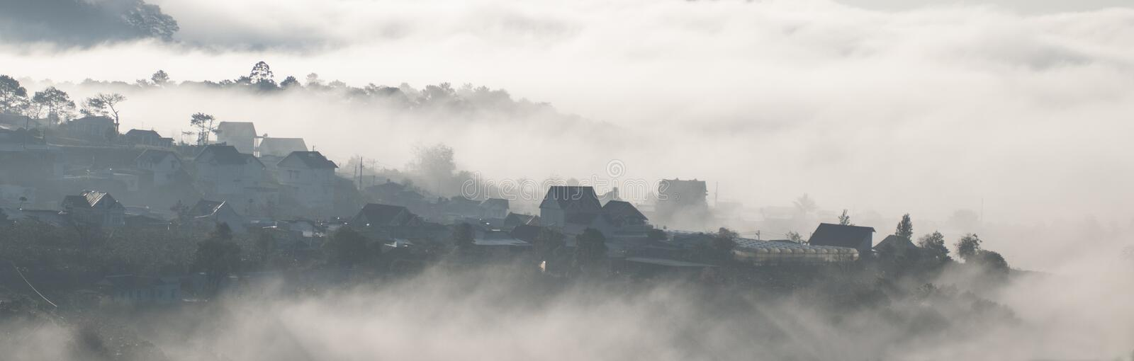 A life in the clouds royalty free stock images