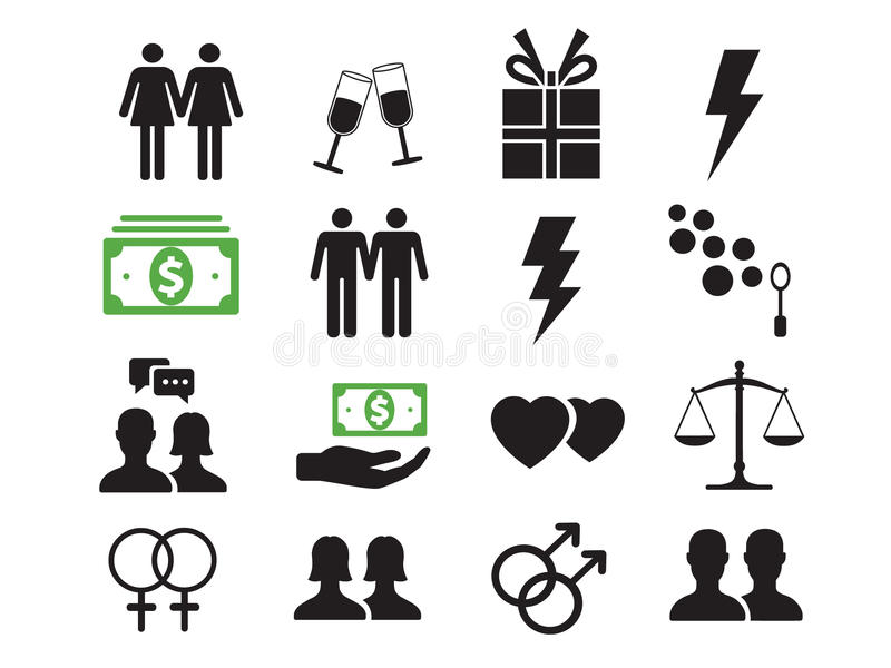 Life Concept & Lifestyle Icons vector illustration