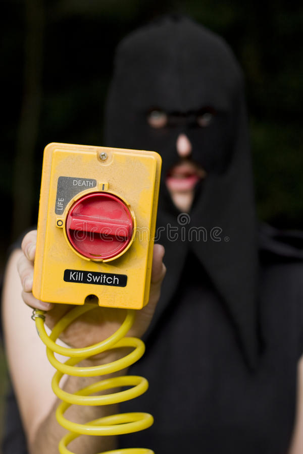 Download Life And Death Kill Switch Executioner Stock Image - Image of life, changer: 15415945