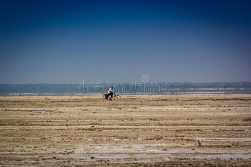 Life in desert of India. royalty free stock photos
