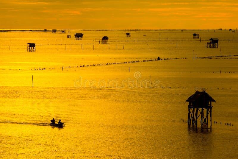 Life of fisherman royalty free stock image
