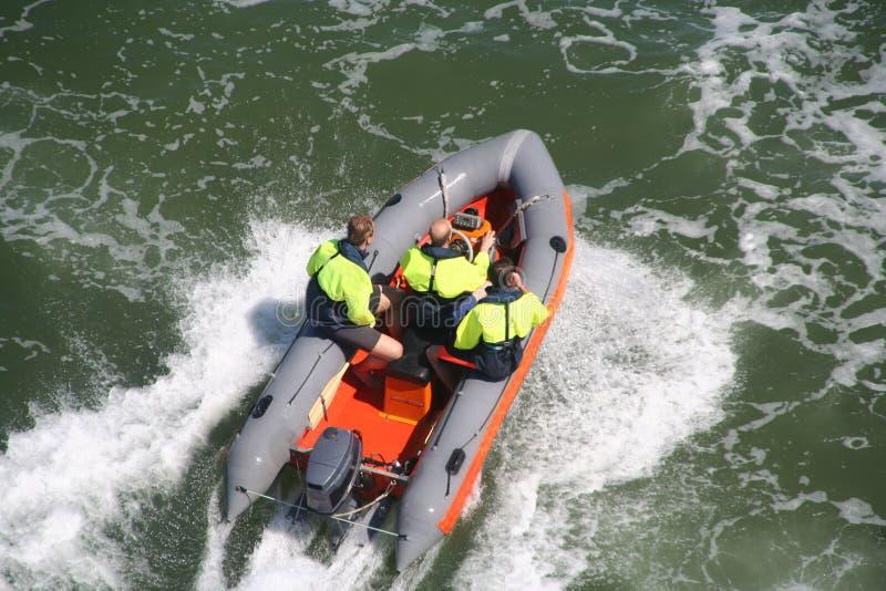 Life Guard Boat stock photos