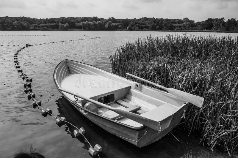 Life guard boat stock photography