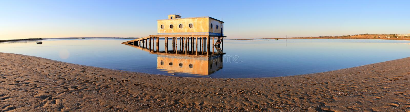 Download Life-guard Building In Fuseta, At Ria Formosa Park Stock Photos - Image: 23194043